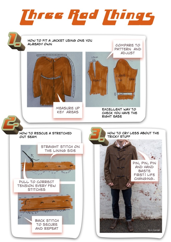 3 invaluable lessons learnt whilst making the rad jacket thisismoonlight